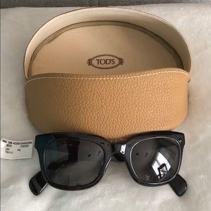 Tortoiseshell Tod's Sunglasses